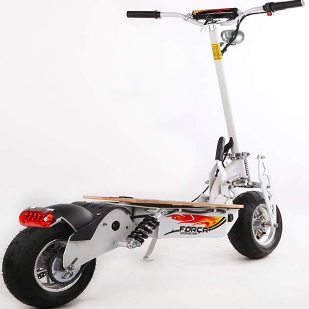 forca evoking 1600 40 km h elektro roller scooter. Black Bedroom Furniture Sets. Home Design Ideas