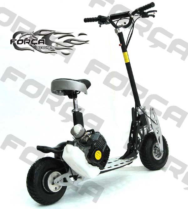 forca benzin roller race scooter 67km h speed 2 gang ebay. Black Bedroom Furniture Sets. Home Design Ideas