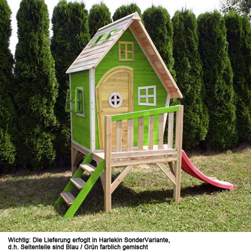 spielturm holzhaus gartenhaus baumhaus spielhaus kinder ebay. Black Bedroom Furniture Sets. Home Design Ideas
