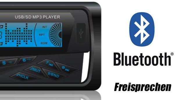 bluetooth autoradio mp3 mit usb sd hd tuner iso mit freisprech funktion ebay. Black Bedroom Furniture Sets. Home Design Ideas