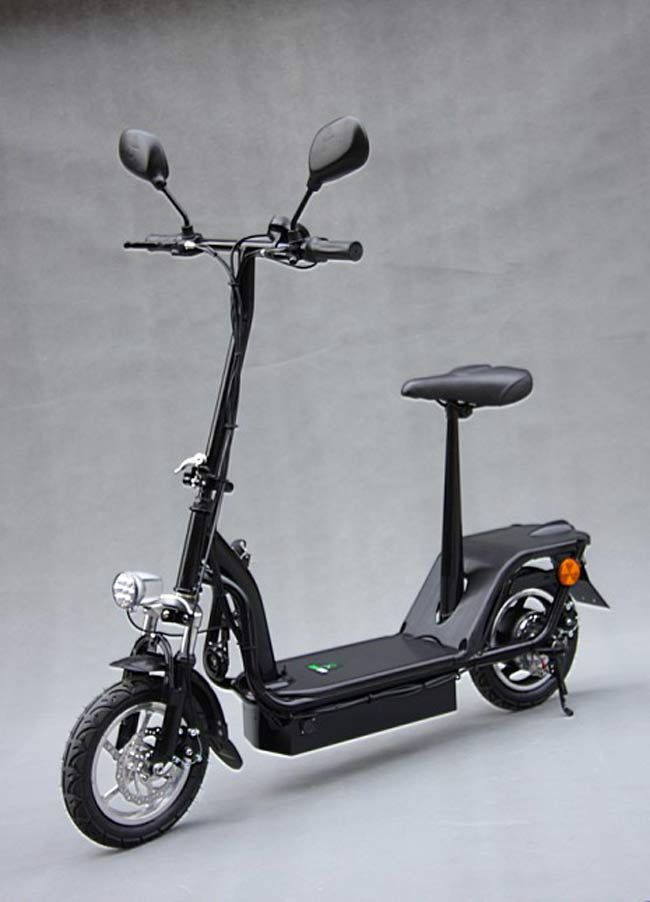 12 zoll e scooter mit nabenmotor elektroroller. Black Bedroom Furniture Sets. Home Design Ideas