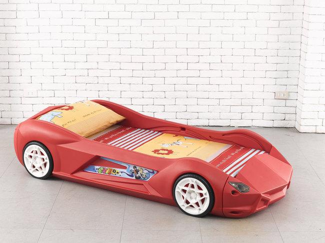 kinderbett rennauto jugendbett bett rennwagen sportauto design wow roooaaarrrr. Black Bedroom Furniture Sets. Home Design Ideas