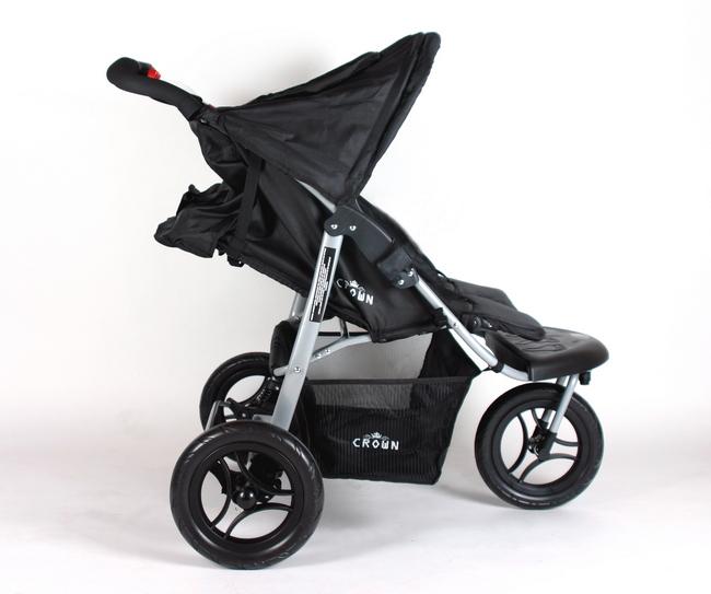 tt14 crown twin kinderwagen zwillingswagen black generation 2 0 kaufen bei. Black Bedroom Furniture Sets. Home Design Ideas